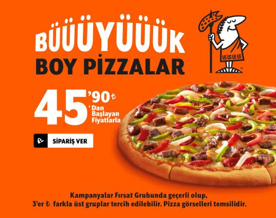 Tek Pizzalar (Büyük)