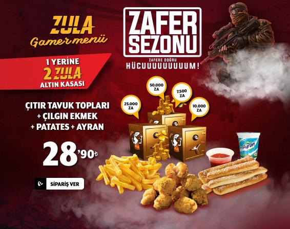 Zula Gamer Menü